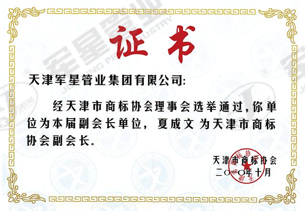 天津市商标协会副会长单位
